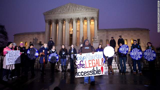 Manifestacion defensa aborción