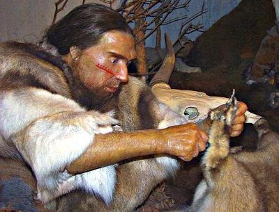 Neandertaler-im-MuseumB