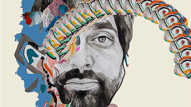 Animal Collective Lp-Painting withOk