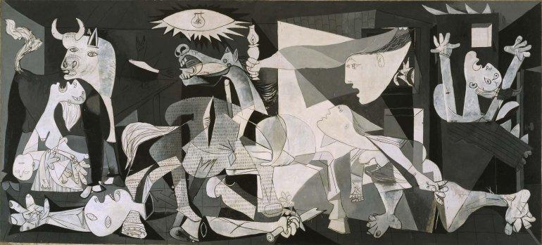 Pablo-Picasso.-Guernica-1937.-Colección-Museo-Nacional-Centro-de-Arte-Reina-Sofía-©-Sucesión-Pablo-Picasso-VEGAP-Madrid-2017