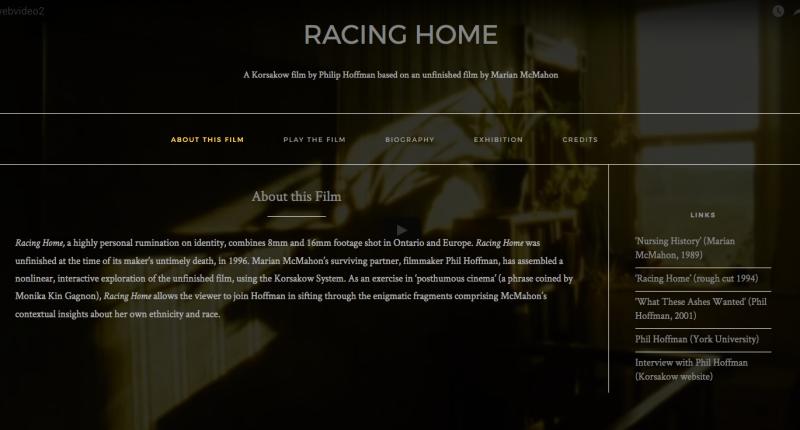 Racing Home 1