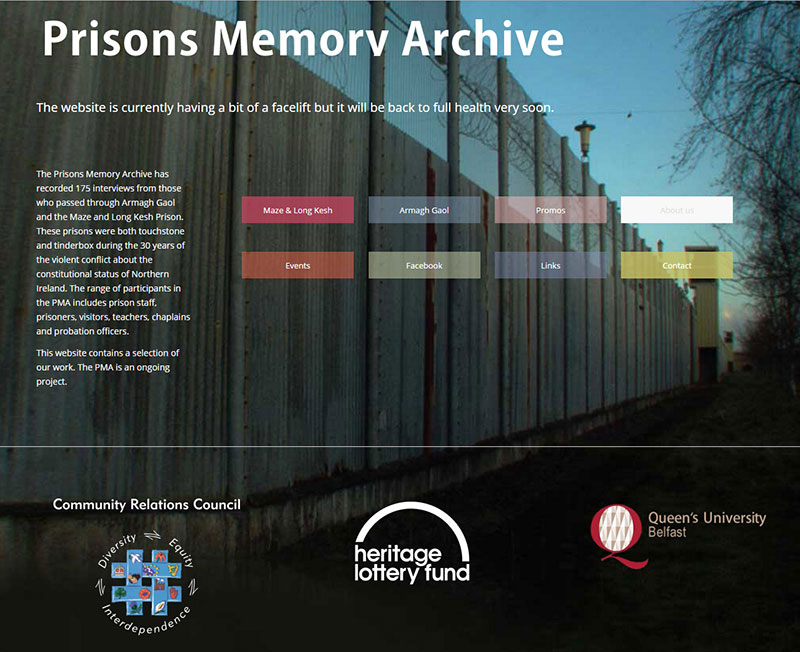 Prisons memory archive