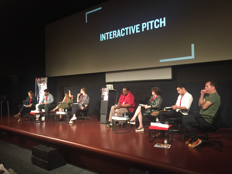Interactive pitch 0