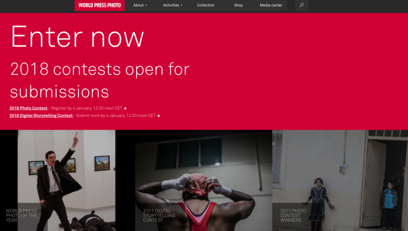 World Press photo web