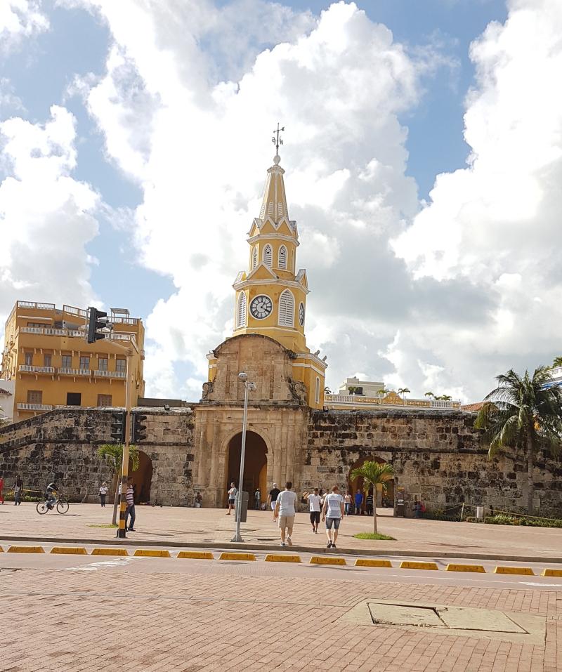 Cartagena de Indias  Torre del reloj