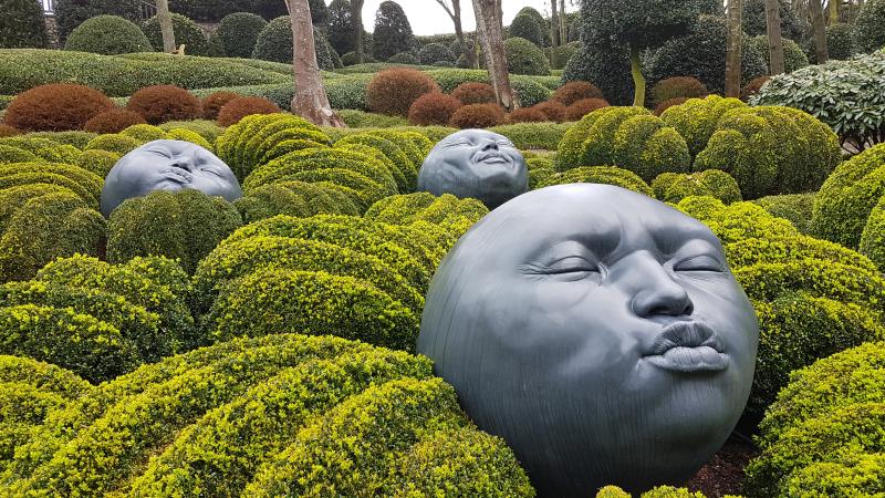 Jardines Etretat