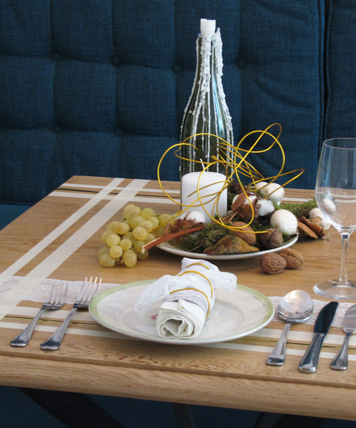Decora tu mesa para esta Navidad. 1ª parte: elegancia a buen ...