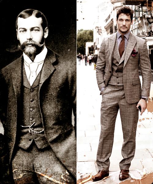 El Rey Jorge V y David Gandi, el estilo atemporal.