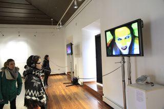 Visitantes Exposición Inestabilidad y Metamorfosis