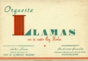 Orquesta Llamas TARJA BLOG
