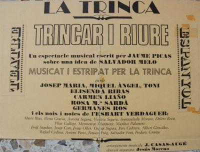 TRINCAR i RIURE amb direcció JESÚS MORENO blog