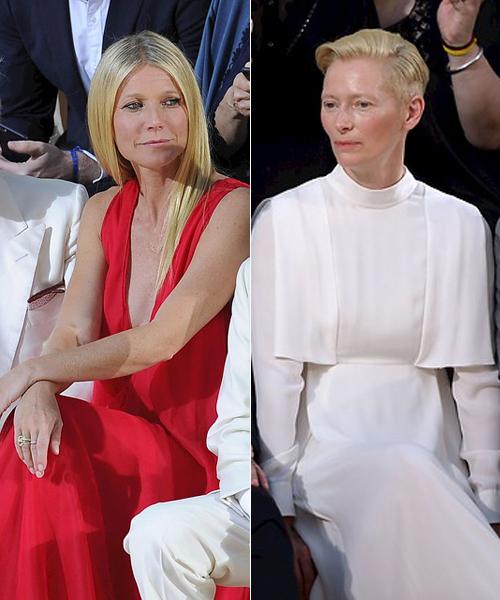 Gwyneth-Paltrow-y-Tilda-Swinton-en-Valentino