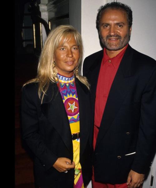 Gianni-y-Donatella-Versace-en-1990