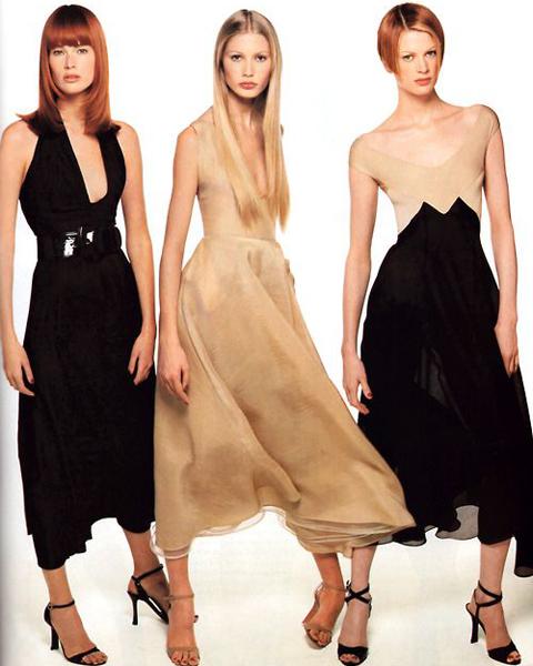 Diseños-de-Donna-Karan-fotografiados-por-Steven-Meisel-para-Vogue-USA-en-enero-de-1995.