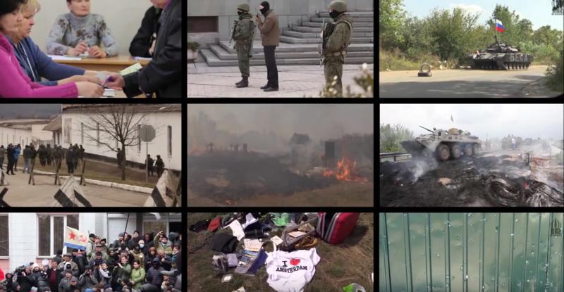 Ucrania el año del caos