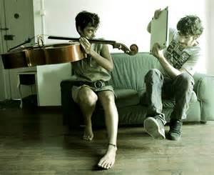 Cello & laptop