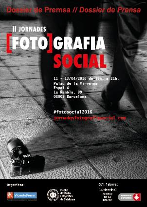 Cartel jornadas foto social