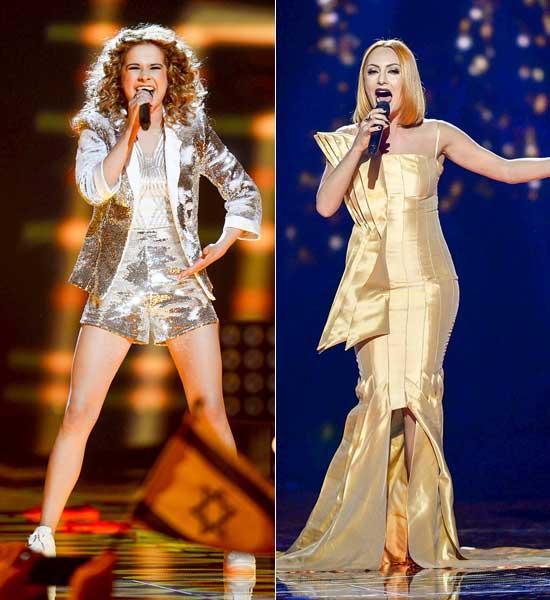 Las-cantantes-de-Bélgica-y-Albania