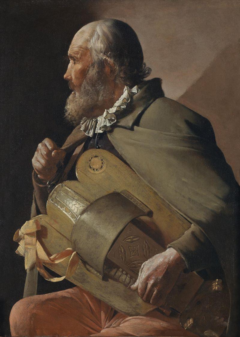 Ciego tocando la zanfonía ©Museo Nacional del Prado