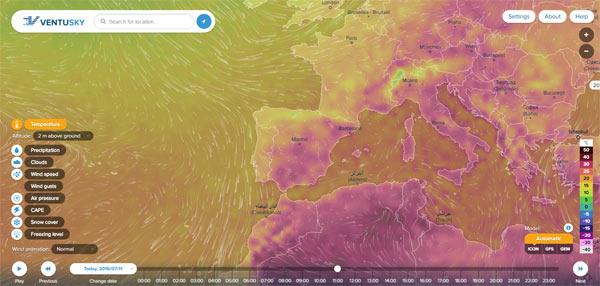 Mapa-meteorologico