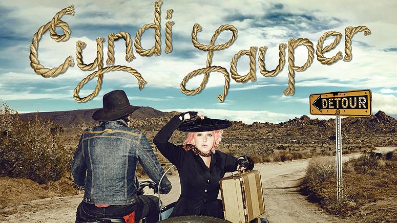 Cyndi Lauper LP-DetourOk