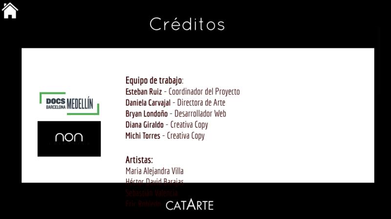Créditos Catarte