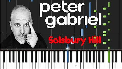 Peter Gabriel single-Solsbury Hill 2Ok