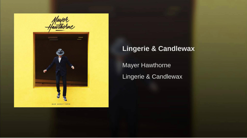 Mayer Hawthorne - Lp-Man about townOk