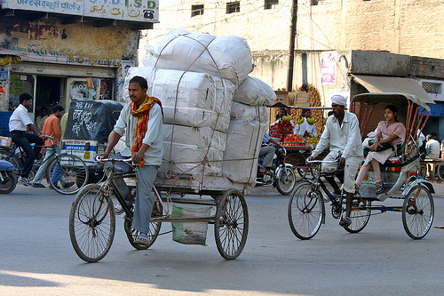 Bicycle-truck-india