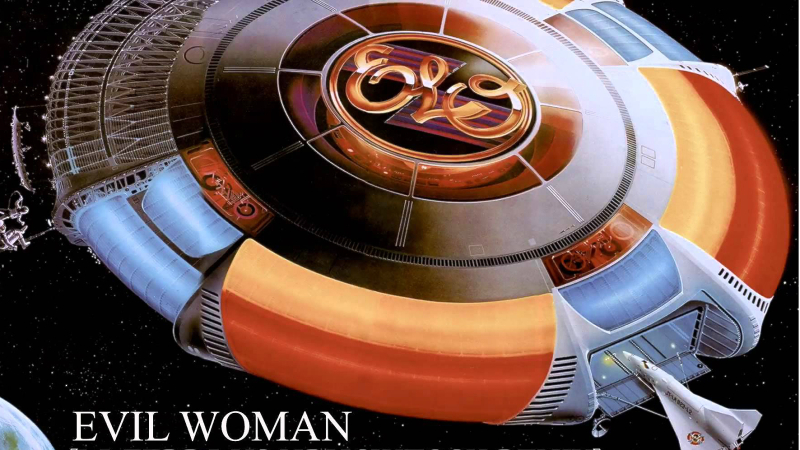 Electric Light Orchestra - single-Evil womanOk