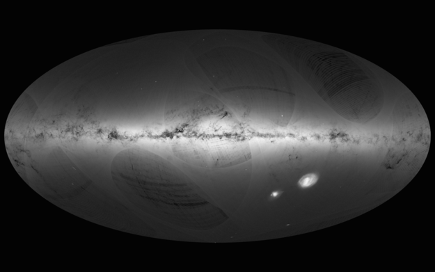 Gaia_s_first_sky_map_large_Foto ESA