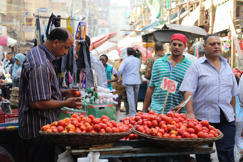 Vendedor tomates