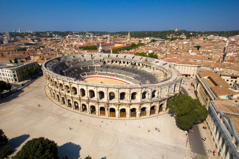 12. Arènes de Nîmes. Photo L. Boudereaux