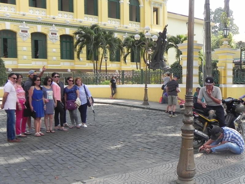 Vietnam-Saigon turistas @angelaGonzaloM