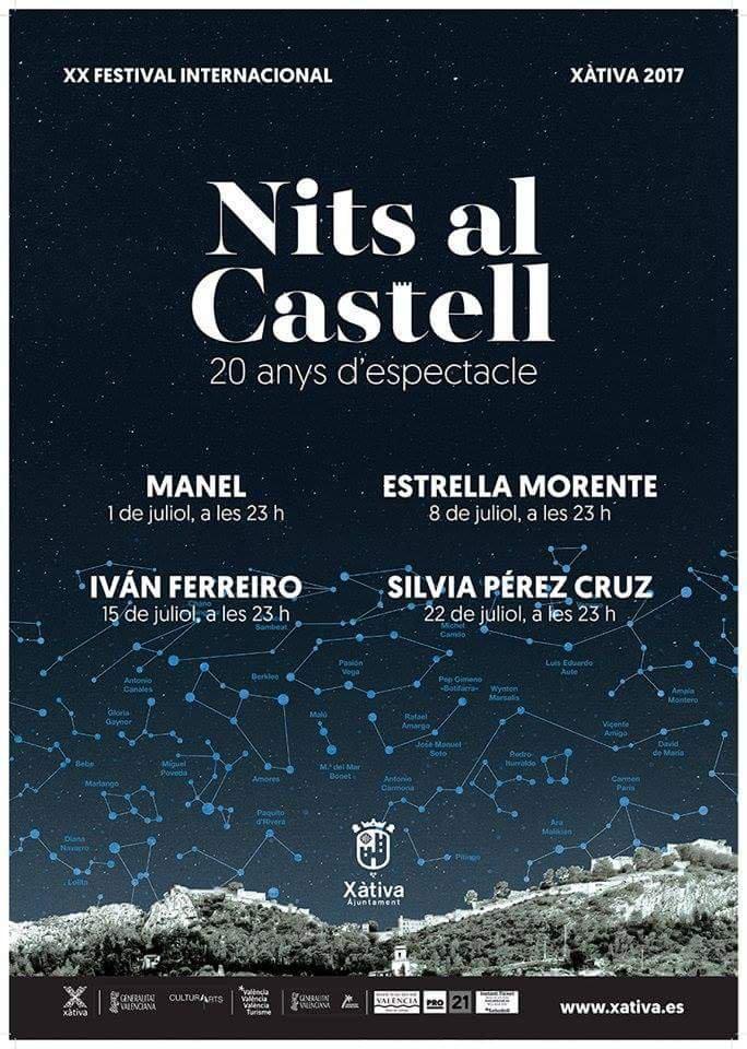Nits al castell de Xàtiva 1 de julio