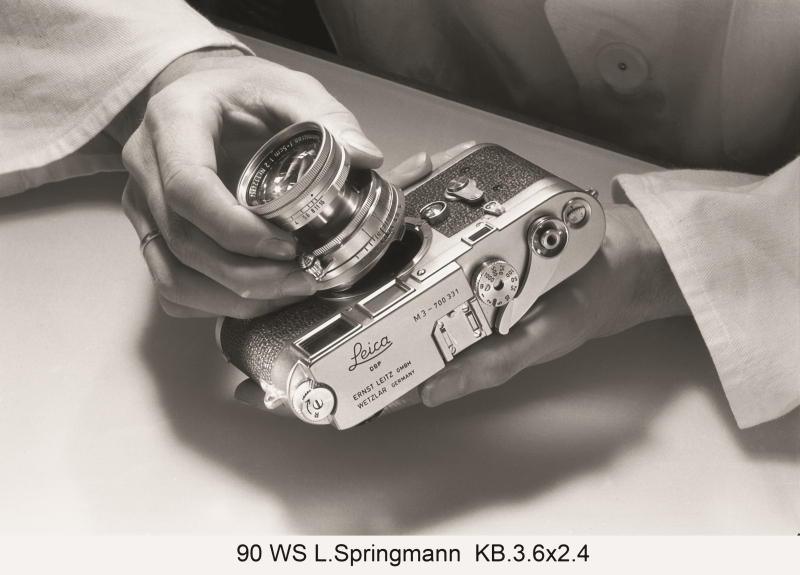 Lisel Springmann_Detalle del proceso de construccio-n de la ca-mara Leica_I c) Leica camera AG  Wetzlar (1)