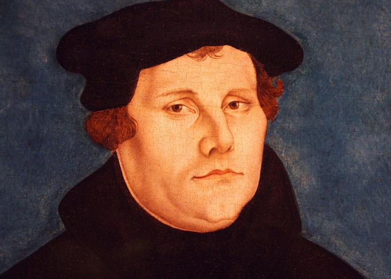 Martín Lutero de Lucas Cranach_Foto Wikipedia
