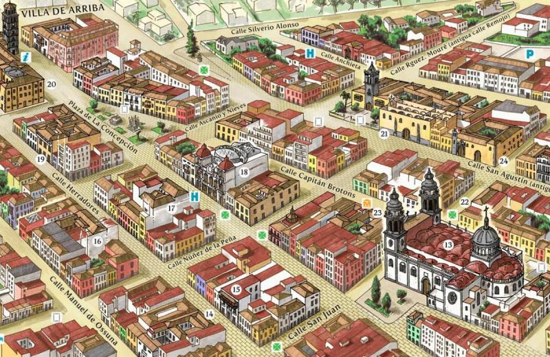 Centro Histórico San Cristóbal de La Laguna @Turismo_LL