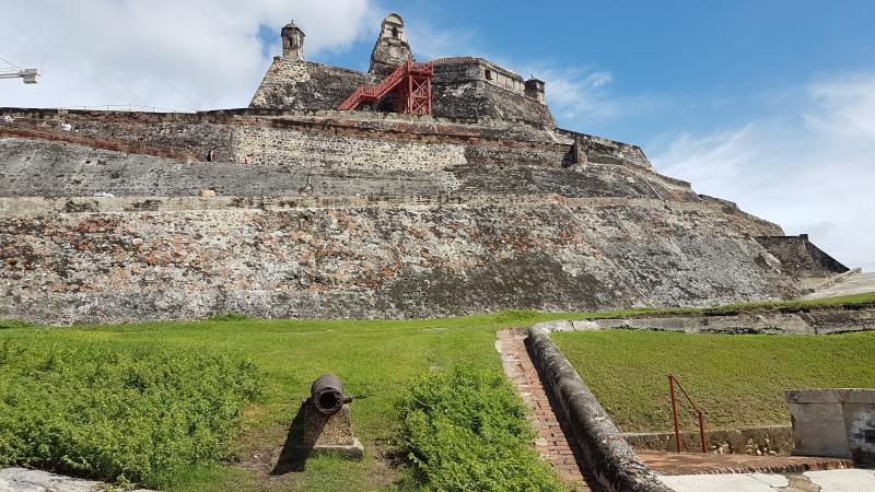 Cartagena de Indias  castillo San Felipe Barajas