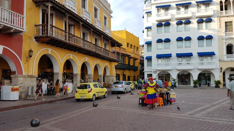 Cartagena de Indias -Plaza Coches-