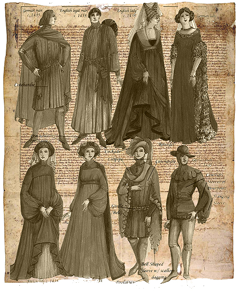 Image Gallery moda femenina segle xiv
