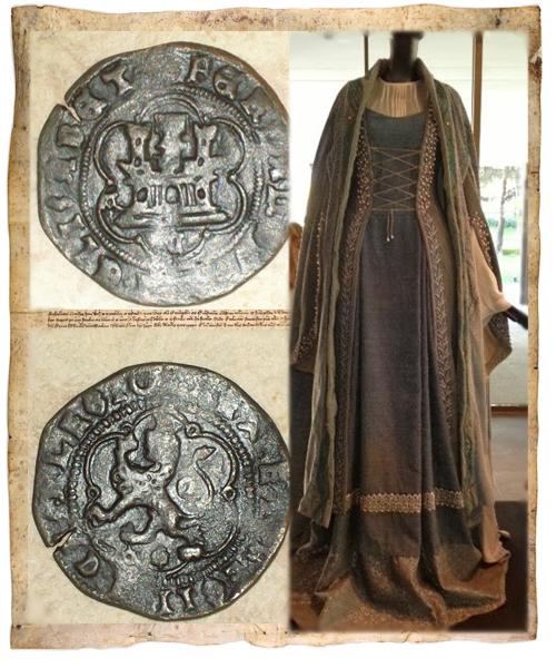 Modas y costumbres del siglo XV  El armario de Isabel la Católica ... f4b66bc5a41