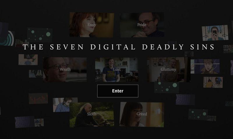 Seven Digital Deadly Sins