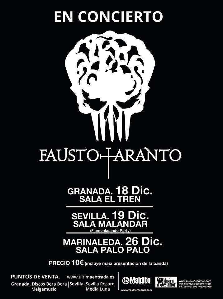 Fausto en concierto