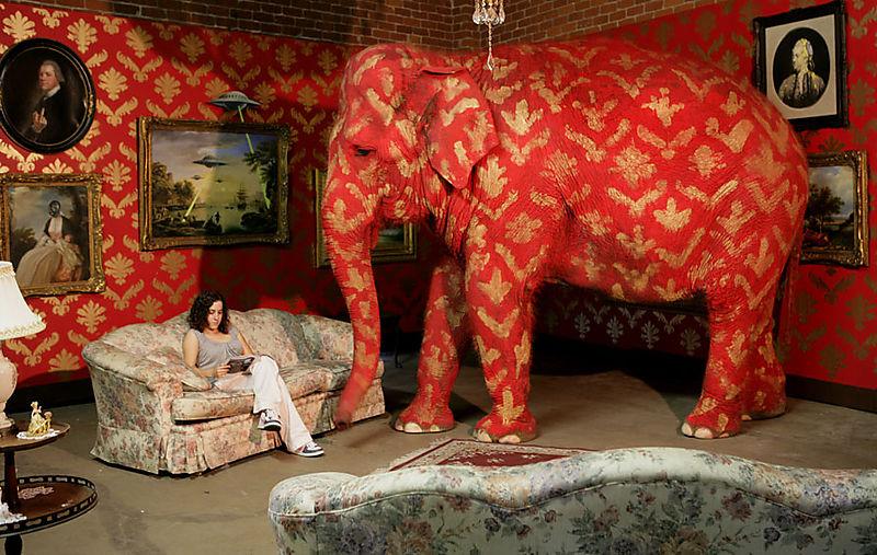 Elephant (Bansky)