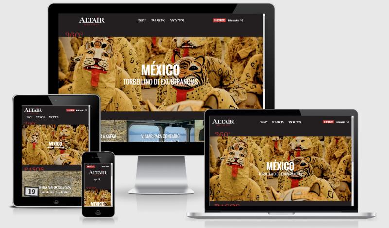 AltairMagazine multidispositivo
