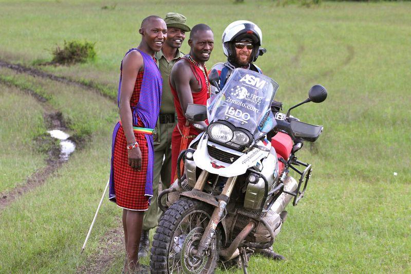 Miquel moto masais