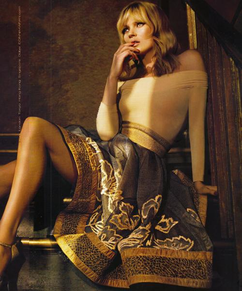 Kate-Moss-para-Donna-Karan,-otoño-de-2008