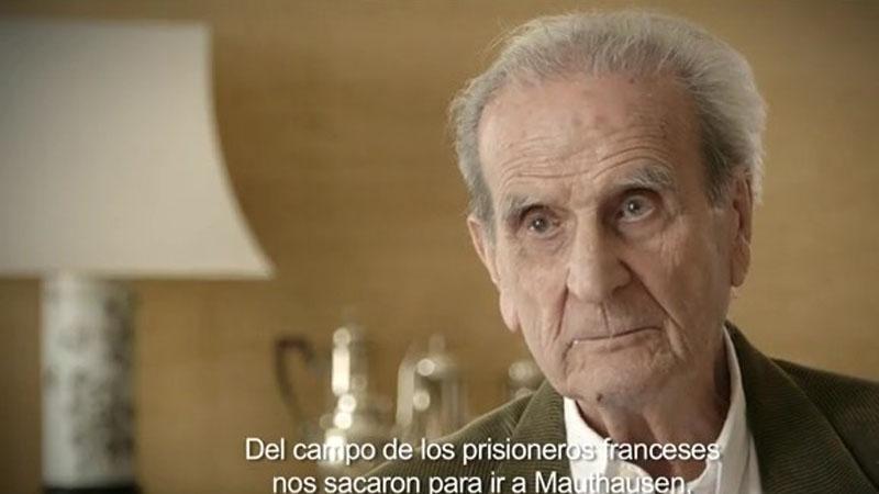 Eduardo Escot en uno de los fotogramas de la película