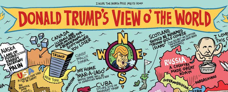El mundo segun Trump
